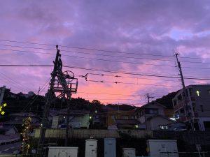 明日は台風にお気をつけ下さい!