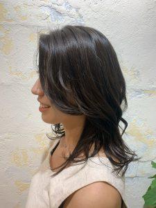 前髪でイメチェン