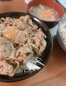 シャッキリ豚丼